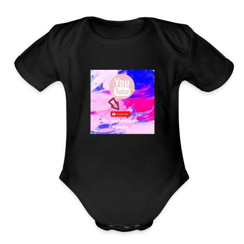 are youtube channel - Organic Short Sleeve Baby Bodysuit