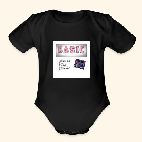 First Basic Merch - Organic Short Sleeve Baby Bodysuit