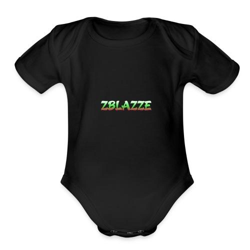 zBlazze New Merch - Organic Short Sleeve Baby Bodysuit