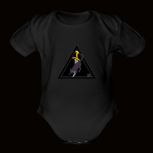 Team Logo - Organic Short Sleeve Baby Bodysuit