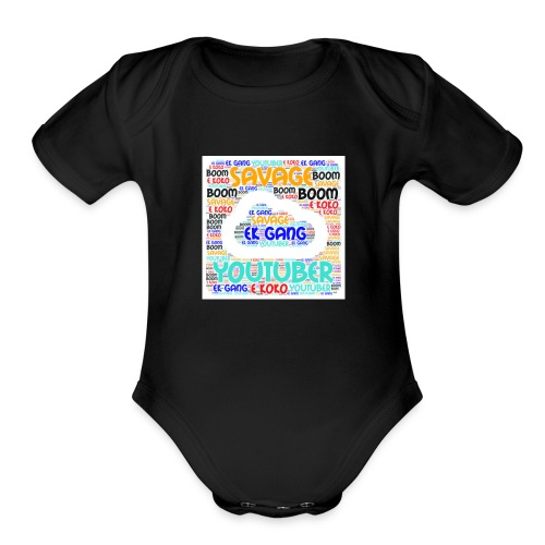 Clout - Organic Short Sleeve Baby Bodysuit