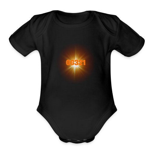 Main YouTube Channel Logo - Organic Short Sleeve Baby Bodysuit