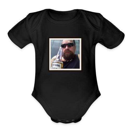 TestStonerShrt - Organic Short Sleeve Baby Bodysuit