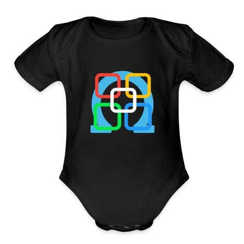 Omega Studios Brand Logo - Organic Short Sleeve Baby Bodysuit