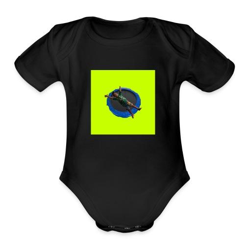 Yt AJ - Organic Short Sleeve Baby Bodysuit