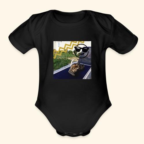 Theos summer bag - Organic Short Sleeve Baby Bodysuit