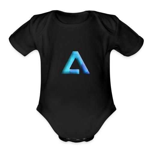 ALAS Bravo's OG Logo - Organic Short Sleeve Baby Bodysuit