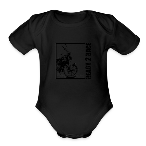 ready2race - Organic Short Sleeve Baby Bodysuit
