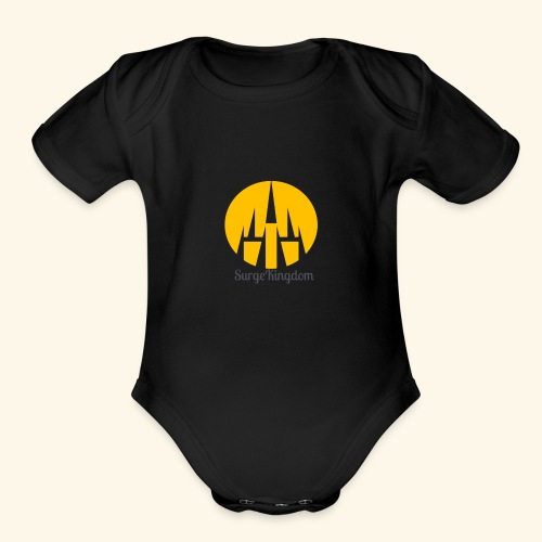 Surge Kingdom Castle - Organic Short Sleeve Baby Bodysuit