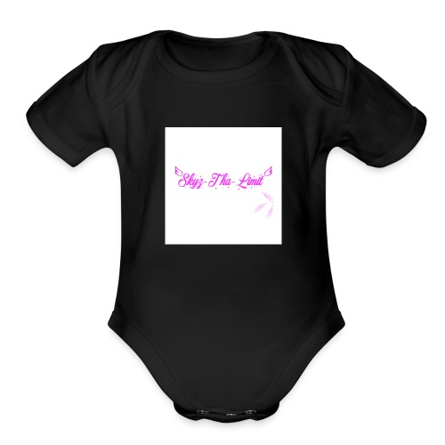 Females Skyzyhalimit - Organic Short Sleeve Baby Bodysuit