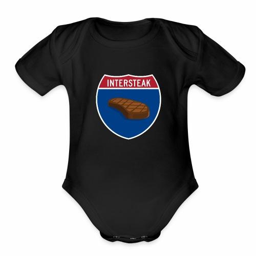 Intersteak - Organic Short Sleeve Baby Bodysuit