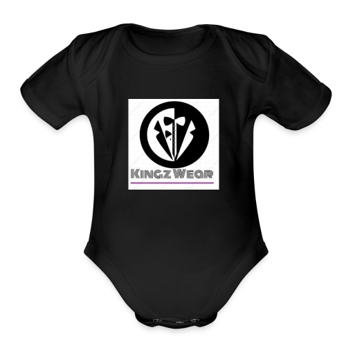 KINGZ WEAR. - Organic Short Sleeve Baby Bodysuit