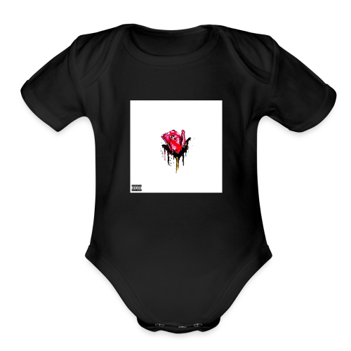 T.T.F - Organic Short Sleeve Baby Bodysuit