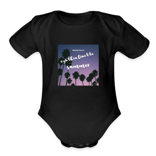It's summer!! - Organic Short Sleeve Baby Bodysuit