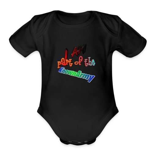 KnownArmy Member - Organic Short Sleeve Baby Bodysuit