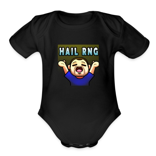 DTBlayde Hail RNG - Organic Short Sleeve Baby Bodysuit