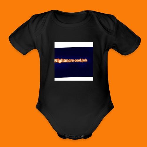 ncj - Organic Short Sleeve Baby Bodysuit