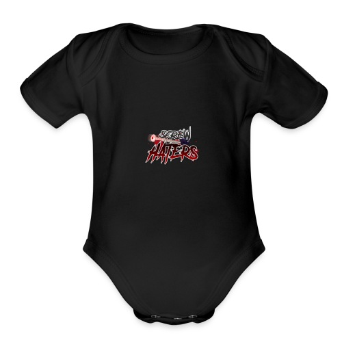 ScrewTheHaters - Organic Short Sleeve Baby Bodysuit