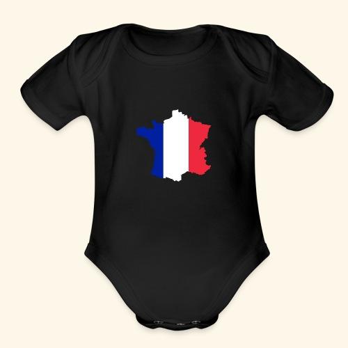 France Merch - Organic Short Sleeve Baby Bodysuit