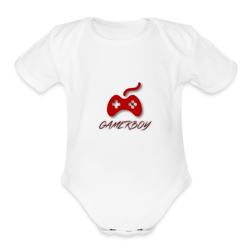 Gamerboy - Organic Short Sleeve Baby Bodysuit