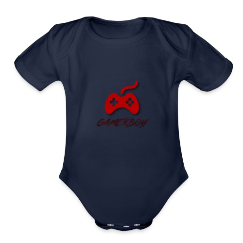 Gamerboy - Organic Short Sleeve Baby Bodysuit