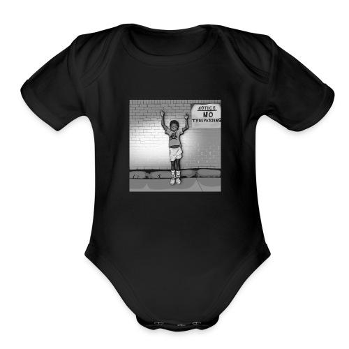 OFFF2 - Organic Short Sleeve Baby Bodysuit