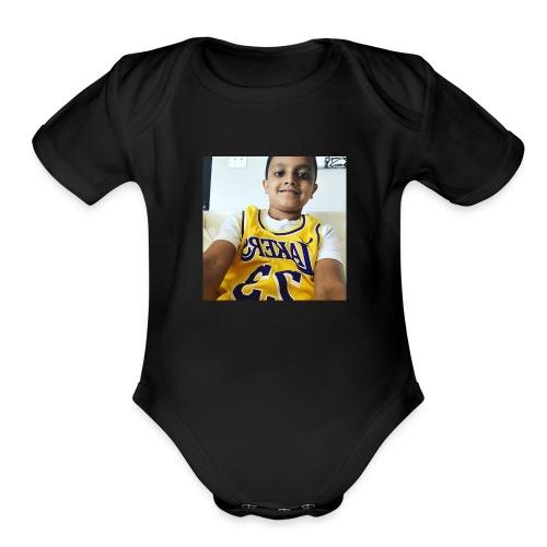 Harry Singh - Organic Short Sleeve Baby Bodysuit