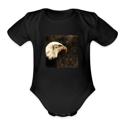 Regal American eagle - Organic Short Sleeve Baby Bodysuit