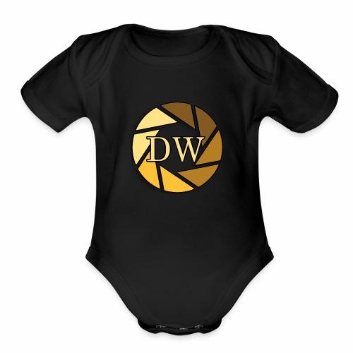 Darkness Within - Organic Short Sleeve Baby Bodysuit