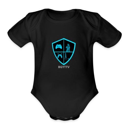 BGYTTV - Organic Short Sleeve Baby Bodysuit