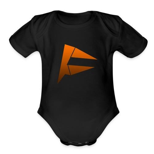 My Logo! - Organic Short Sleeve Baby Bodysuit
