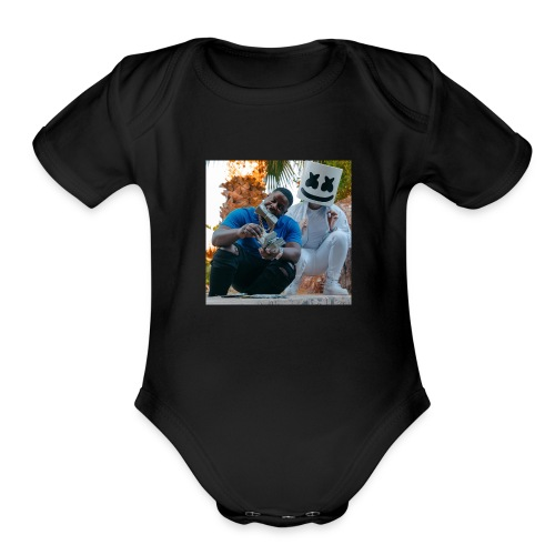 Blac Youngster Shirt - Organic Short Sleeve Baby Bodysuit