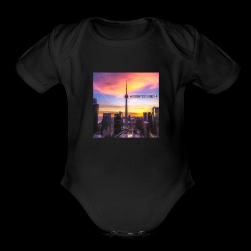#TorontoStrong - Organic Short Sleeve Baby Bodysuit