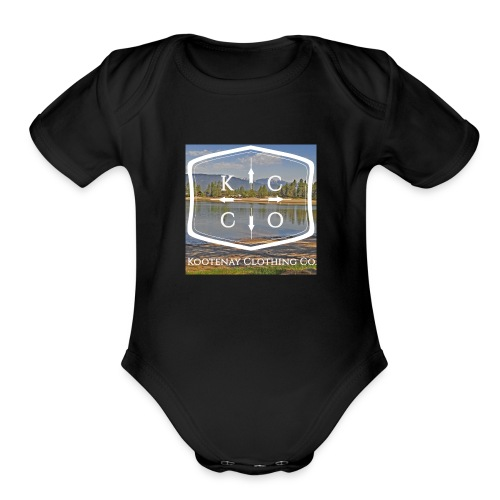 Kootenay Clothing Co Logo Wear - Organic Short Sleeve Baby Bodysuit
