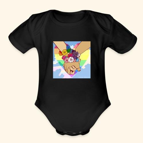 LGBTQ - Organic Short Sleeve Baby Bodysuit