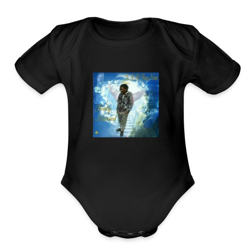Rest Easy BooMan - Organic Short Sleeve Baby Bodysuit