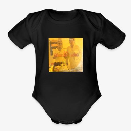 lil pump charlie lean - Organic Short Sleeve Baby Bodysuit