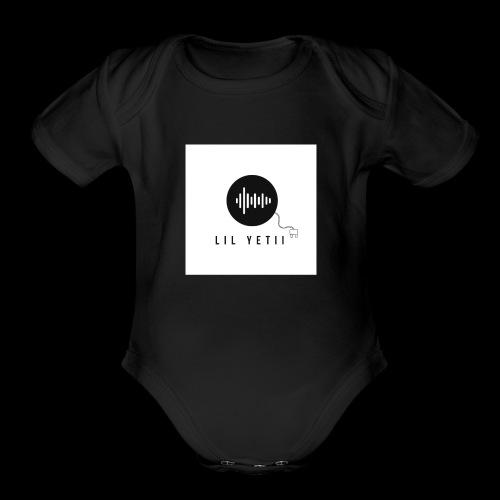 lil Yetii - Organic Short Sleeve Baby Bodysuit