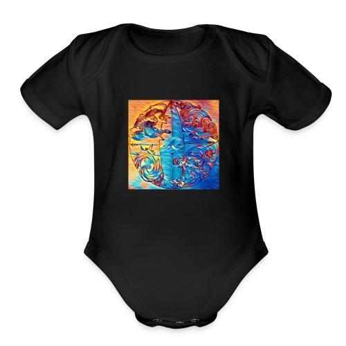 4F5C65AF 2703 4763 BAAE 8BD6ED180246 - Organic Short Sleeve Baby Bodysuit
