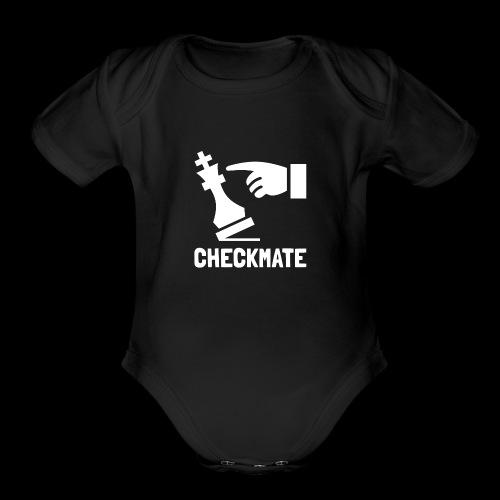Checkmate | Chess Champion - Organic Short Sleeve Baby Bodysuit