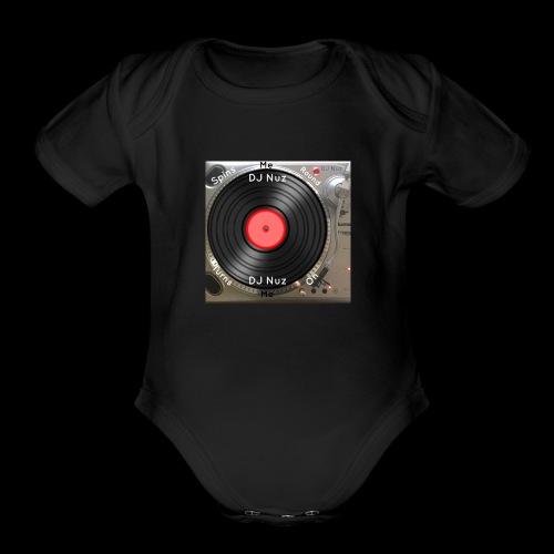 Spin me Round - Organic Short Sleeve Baby Bodysuit