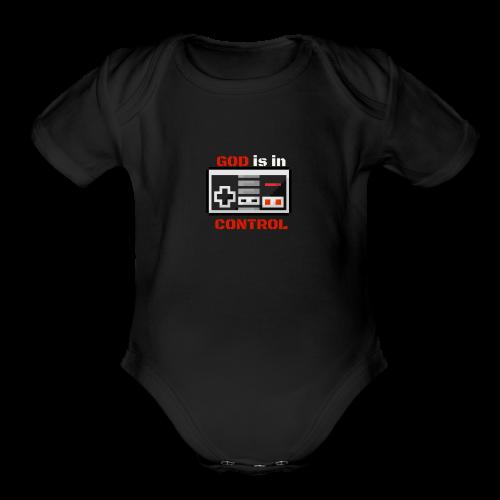 God is in Control Kidss Tee - Organic Short Sleeve Baby Bodysuit