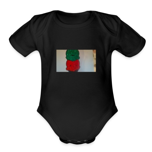 Ice cream t-shirt - Organic Short Sleeve Baby Bodysuit