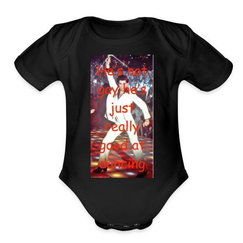 john final - Organic Short Sleeve Baby Bodysuit