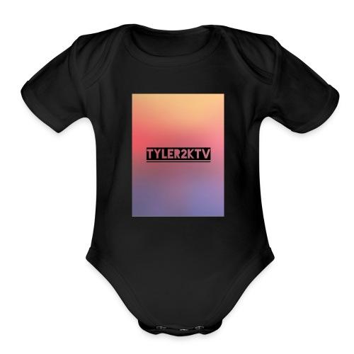 Sun burst - Organic Short Sleeve Baby Bodysuit