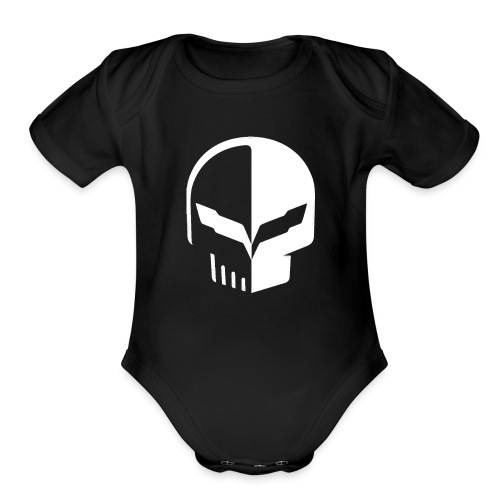 Corvette C7 Jake [WHITE] - Organic Short Sleeve Baby Bodysuit
