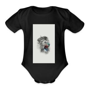 Ryan Leanos - Short Sleeve Baby Bodysuit