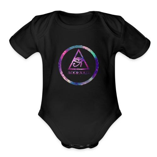 Emblem LoweCase - Organic Short Sleeve Baby Bodysuit