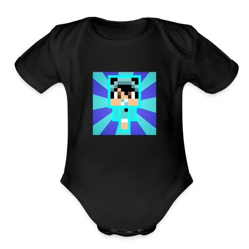 RaygonNation - Organic Short Sleeve Baby Bodysuit