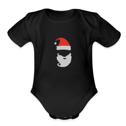 Hoilday Time - Organic Short Sleeve Baby Bodysuit